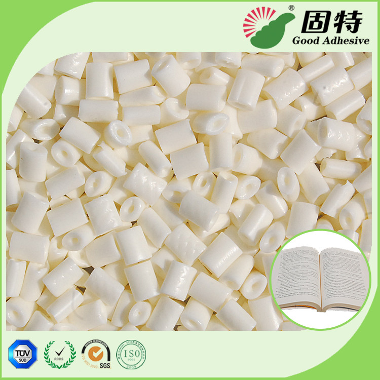 Woodfree Paper Spine Hot Melt Adhesive Glue , Milk White Hot Melt Glue Pellets