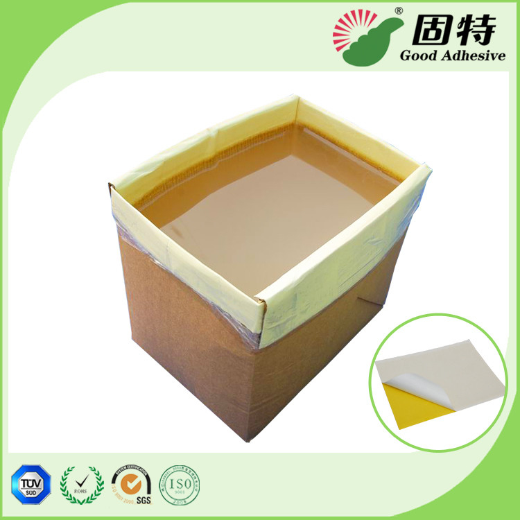Agriculture Greenhouse Solid Hot Melt Glue , Colorless PSA Adhesive Hot Melt