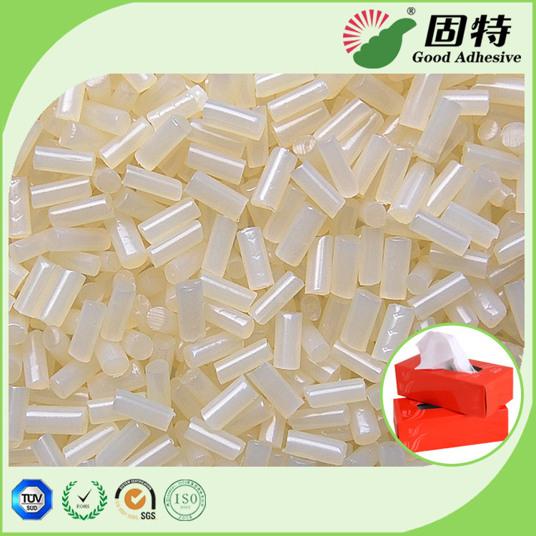 Box or carton  Sealing EVA High Strength Hot melt  Glue Pellets Yellowish Granule