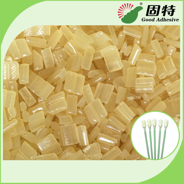 Environmental Yellow granule Hot Melt  Medical Glue Adhesive for Disposable Cleaning Cotton Swab