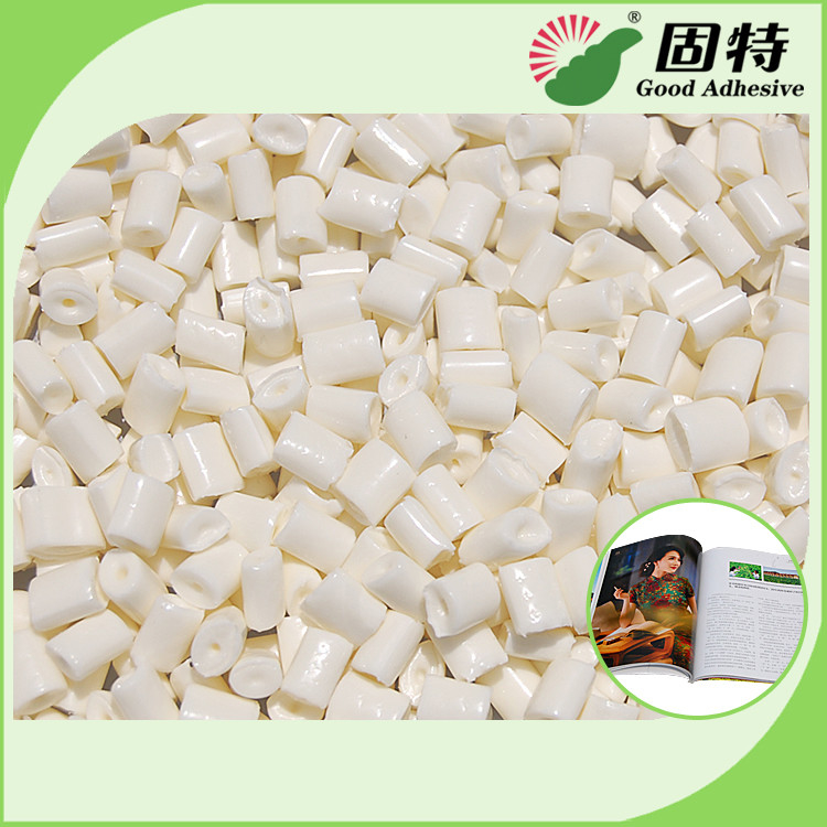 Bookbinding Spine Glue Machine Hot Melt Adhesive Milk White Granule Appearance
