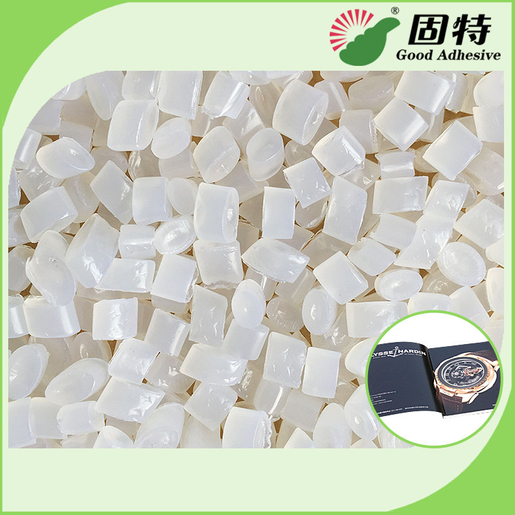 Light Granule EVA and Viscosity resin Side glue for bookbinding, mainly used for book cover  coated paper